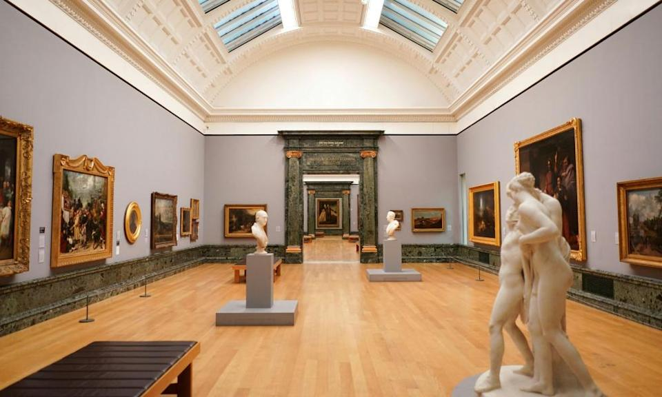 The Tate Britain museum.