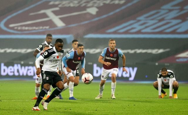 Ademola Lookman attempted a Panenka-style penalty with the last kick of the game