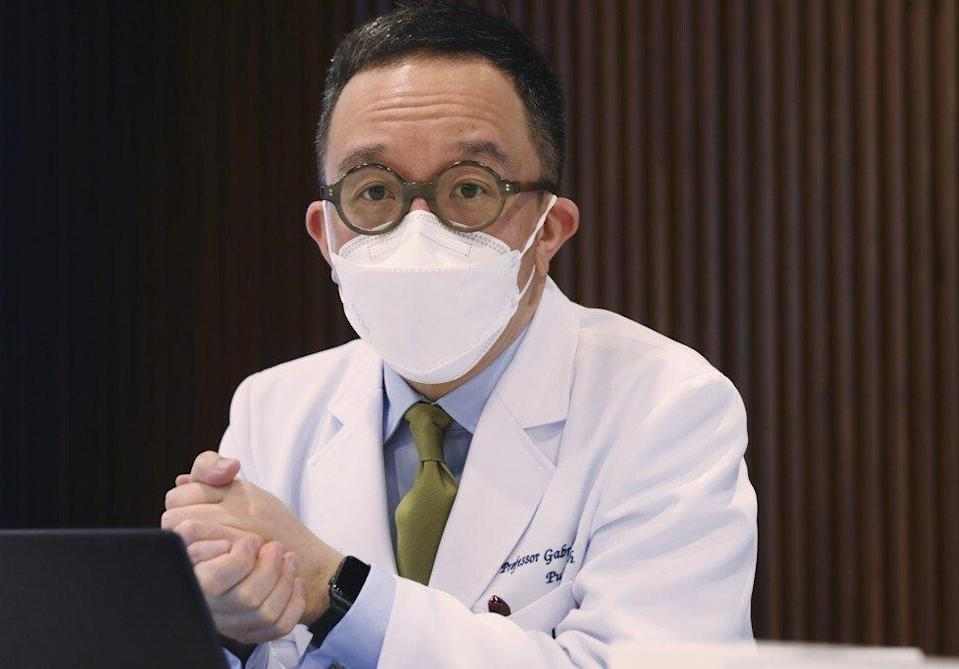 Gabriel Leung is the dean of HKU's faculty of medicine and a government adviser. Photo: Xiaomei Chen