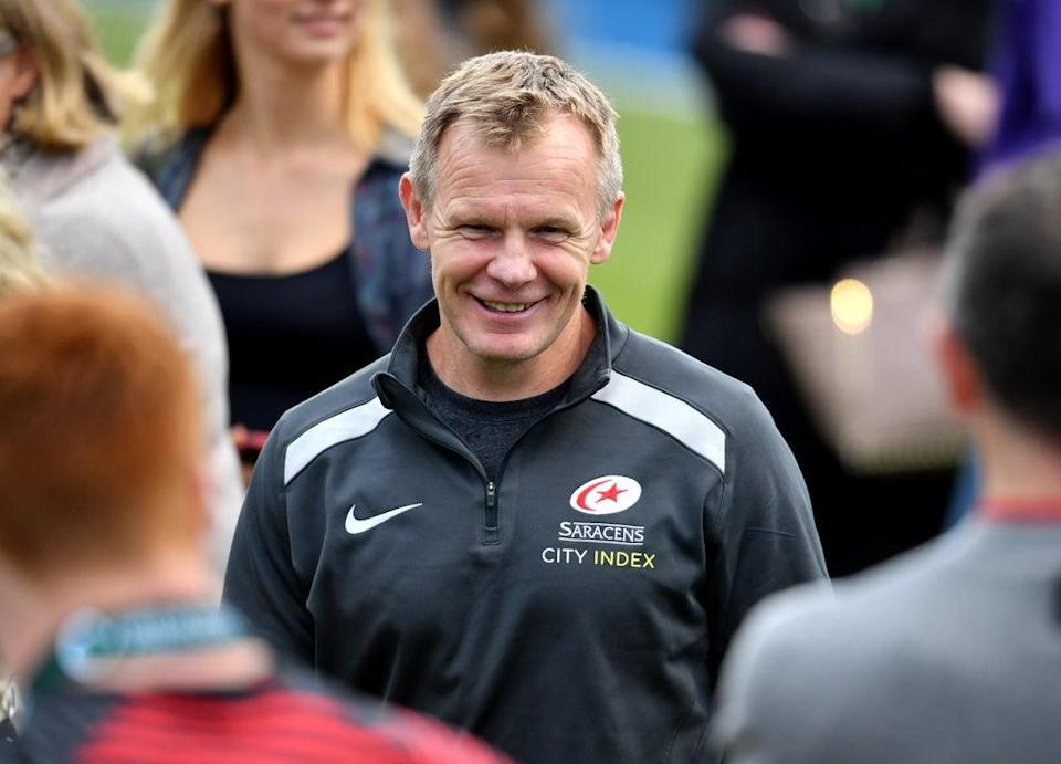 Saracens director of rugby Mark McCall is preparing to face Leicester (Ashley Western/PA) (PA Wire)