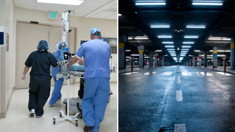 NSW healthcare workers will be able to access free parking. Images: Getty