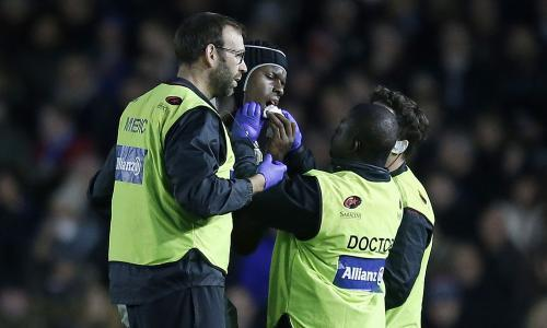 Maro Itoje a doubt for start of Six Nations after suffering broken jaw