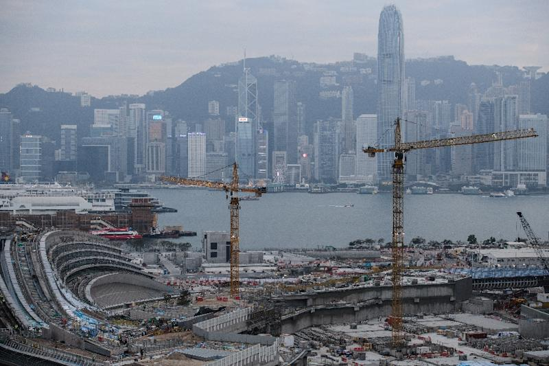 The world's economies are booming, and that means more construction, like the building of a new station for a high-speed rail link which will connect Hong Kong to the southern Chinese city of Guangzhou
