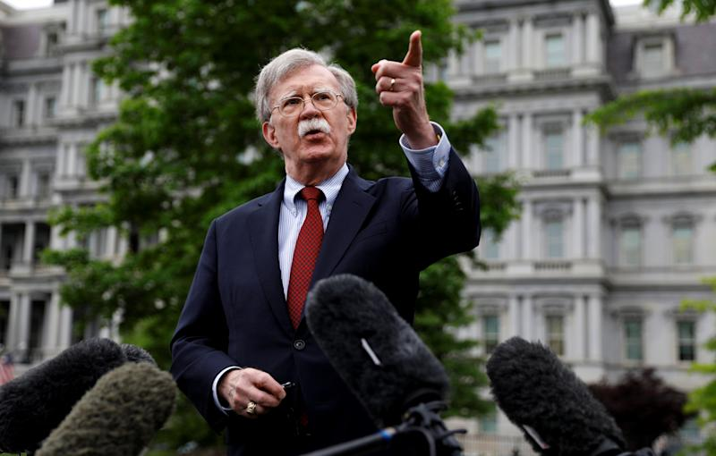 DOJ sues to stop former Trump national security adviser John Bolton's tell-all book