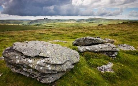 Bleak landscape of Dartmoor - Credit: Adam Burton/Getty