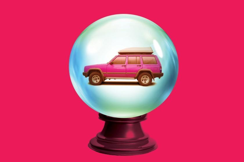 art for story about travel and the future-of-car-trips