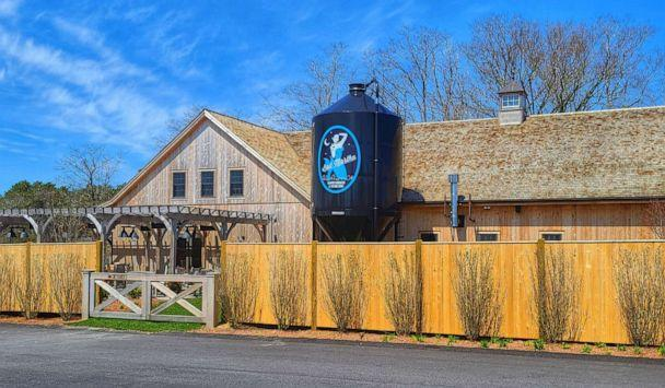 PHOTO: Bad Martha Farmer's Brewery in East Falmouth, Mass., the company's second location, opened in September 2019 and then had to temporary close six months later due to the pandemic. (Property of Bad Martha Beer)