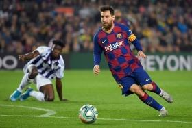 Lionel Messi fit and firing in Barca demolition of Real Valladolid