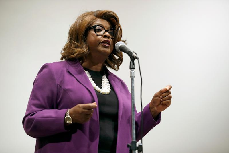 Ella Jones, shown here while a City Council member in 2017, has been elected Ferguson's mayor. (Photo: ASSOCIATED PRESS)