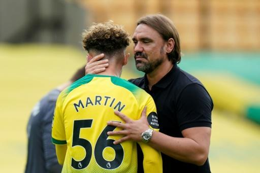 Norwich were relegated after defeat against West Ham