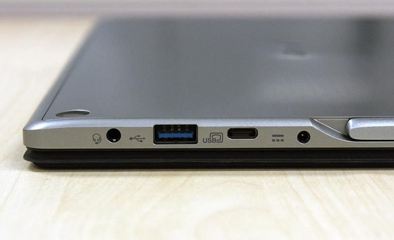 The Switch Alpha 12 comes with a single USB 3.0 port and a USB Type-C port. Unfortunately, the Type-C port does not support Thunderbolt 3.