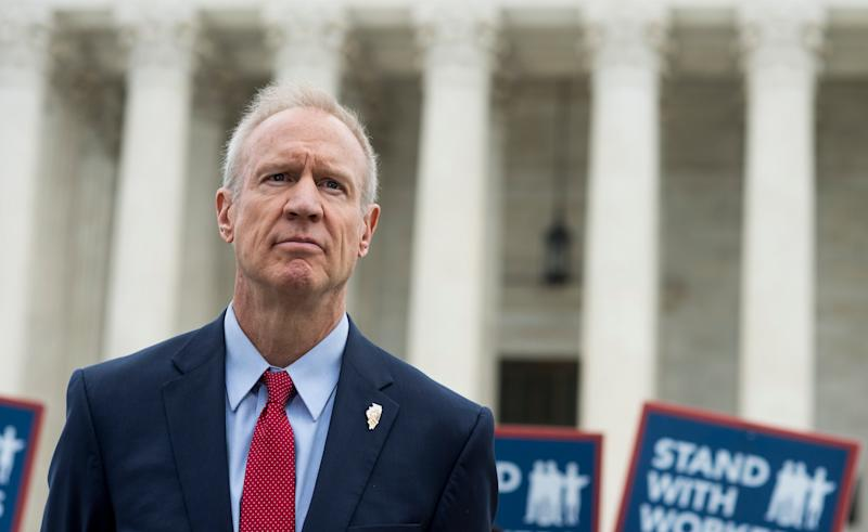 Ilinois Gov. Bruce Rauner lent his support to a case that eventually resulted in a U.S. Supreme Court undercutting unions nationwide.  (Photo: Getty Editorial)