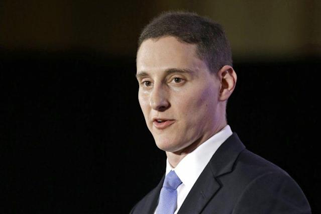 Ohio Treasurer Josh Mandel speaks at the Ohio Republican Party election night celebration in Columbus, Ohio, in November 2014. (Photo: Tony Dejak/AP)