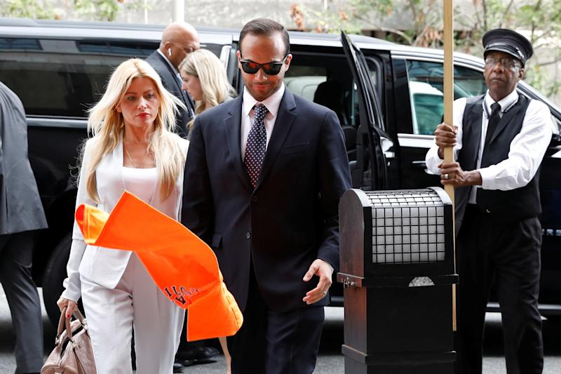 Papadopoulos denied campaign was involved in DNC hack in recording