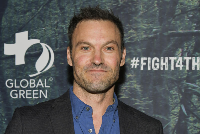 LOS ANGELES, CALIFORNIA - DECEMBER 09: Brian Austin Green attends the PUBG Mobile's #FIGHT4THEAMAZON Event at Avalon Hollywood on December 09, 2019 in Los Angeles, California. (Photo by Rodin Eckenroth/Getty Images)