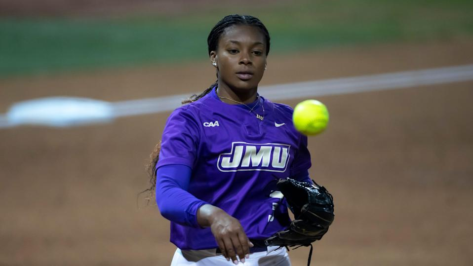 Pitcher Odicci Alexander led James Madison to the Women's College World Series for the first time in program history.