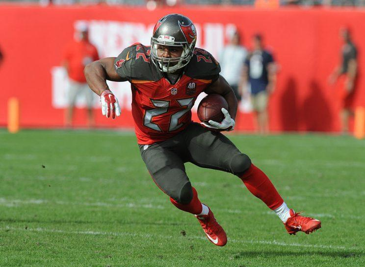 Doug Martin (Photo by Cliff McBride/Getty Images)