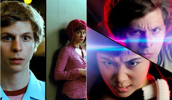 """Michael Cera, left, Mary Elizabeth Winstead, Ellen Wong and the rest of the star-studded cast of """"Scott Pilgrim vs. the World"""" reunited virtually this week. <span class=""""copyright"""">(Universal Pictures)</span>"""
