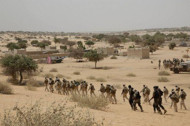 PHOTO: In this March 7, 2015, file photo, Chadian troops and Nigerian special forces participate in the Flintlock exercises with the U.S. military and its Western partners in Mao, Chad. (Jerome Delay/AP, File)
