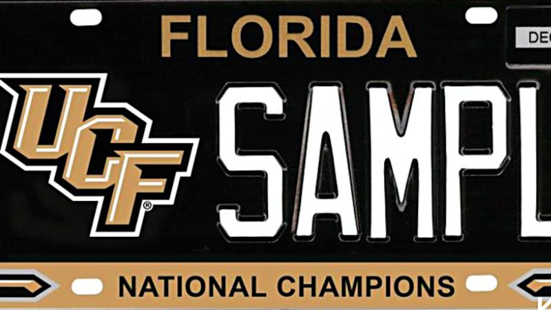 Bill introduced calling for UCF National Champions license plates