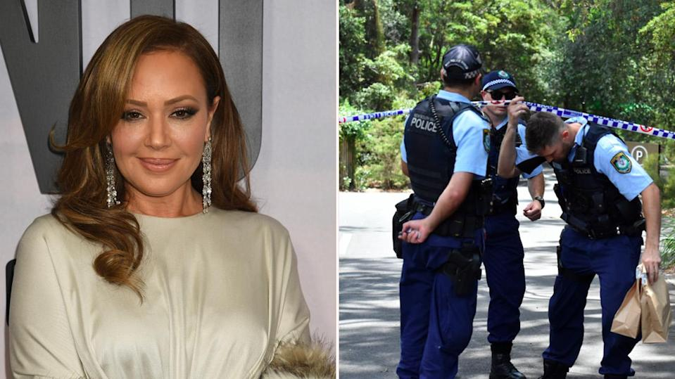 Scientology leaders have accused actress Leah Remini (pictured) and her Australian co-host Mike Rinder of inciting hatred and violence following the stabbing death of a man on Scientology premises in Sydney. Source: AAP