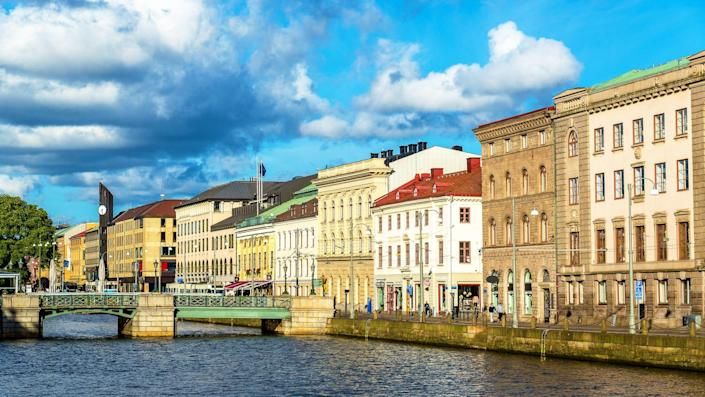 Sweden is planning to open its borders to U.S. tourists starting June 30. Pictured here: Gothenburg, Sweden.