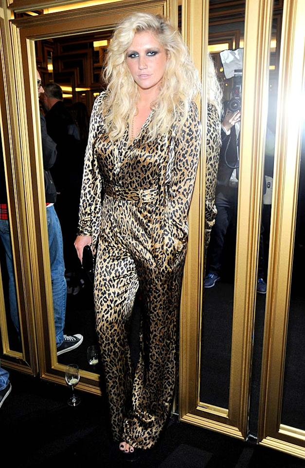 """Sleazy"" singer Ke$ha stayed loyal to leopard print ... (11/8/2011)"