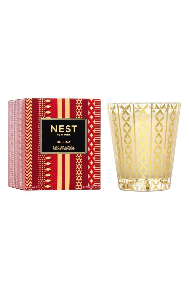 <p>This <span>Nest Fragrances Holiday Candle</span> ($16) smells so festive.</p>