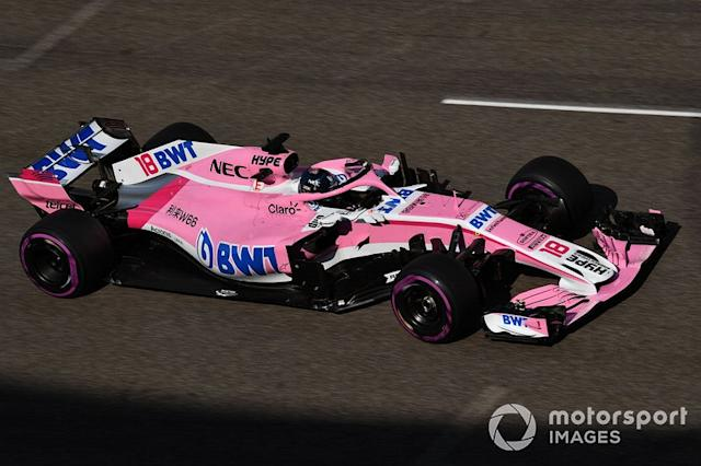 "2018: Force India VJM11 <span class=""copyright"">Mark Sutton / Motorsport Images</span>"