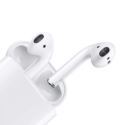 """<p><strong>Apple</strong></p><p>amazon.com</p><p><strong>$128.98</strong></p><p><a href=""""https://www.amazon.com/dp/B07PXGQC1Q?tag=syn-yahoo-20&ascsubtag=%5Bartid%7C10050.g.23496922%5Bsrc%7Cyahoo-us"""" rel=""""nofollow noopener"""" target=""""_blank"""" data-ylk=""""slk:Shop Now"""" class=""""link rapid-noclick-resp"""">Shop Now</a></p><p>Every kid wants AirPods, for their cool factor—and because they'll give your teen a better way to listen to his favorite tunes.</p>"""
