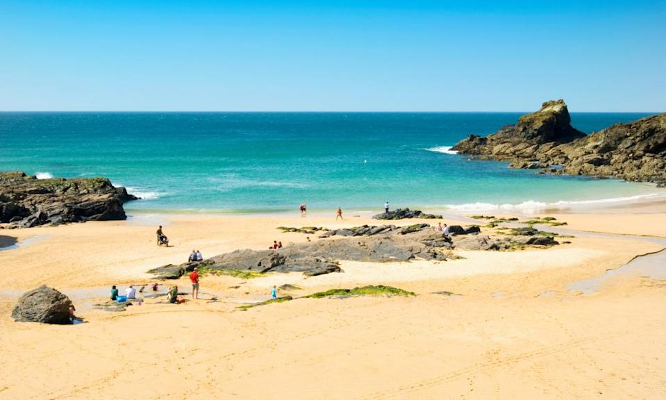 We do like to be beside the seaside – and Trevone Bay, Padstow, Cornwall, is beautiful.
