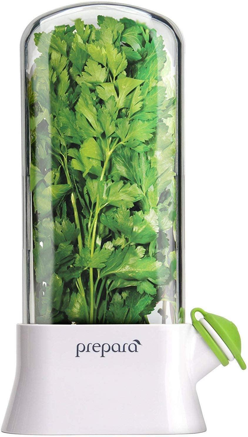 <p>If you want to get them something useful, try the <span>Prepara Eco Herb Savor Pod</span> ($33). Their greens will stay fresh for longer with it.</p>