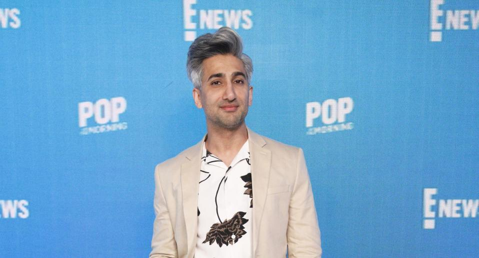 Tan France said he's received abuse after revealing that he's set to become a dad. (Photo by: Lars Niki/E! Entertainment/NBCU Photo Bank via Getty Images)