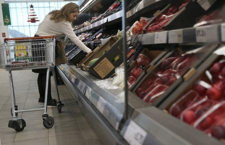 United Kingdom  grocery prices rising at fastest rate in four years