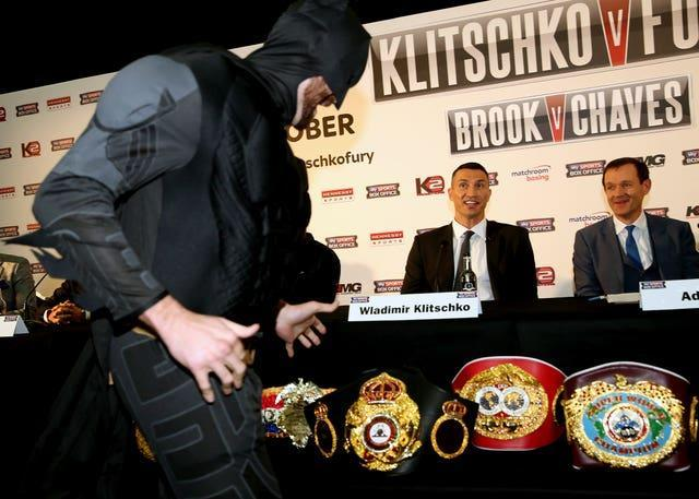 Boxing – Wladimir Klitschko v Tyson Fury Press Conference – Hilton Syon Park