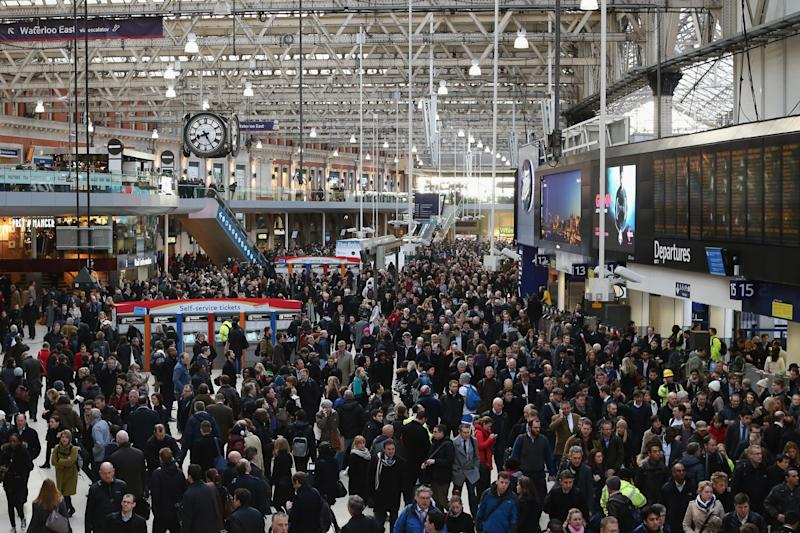 South Western Railway strikes: Services to and from London Waterloo are expected to face disruption: Getty