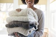 """<p>From old clothing to toys, have a good declutter and organise your home. Not only will you have more space in your home and attic, but if you donate your items to charity someone else might benefit from items you no longer need. </p><p><strong>READ MORE</strong>: <a href=""""https://www.housebeautiful.com/uk/lifestyle/storage/g31213380/storage-baskets/"""" rel=""""nofollow noopener"""" target=""""_blank"""" data-ylk=""""slk:20 storage baskets for an organised home"""" class=""""link rapid-noclick-resp"""">20 storage baskets for an organised home</a></p>"""