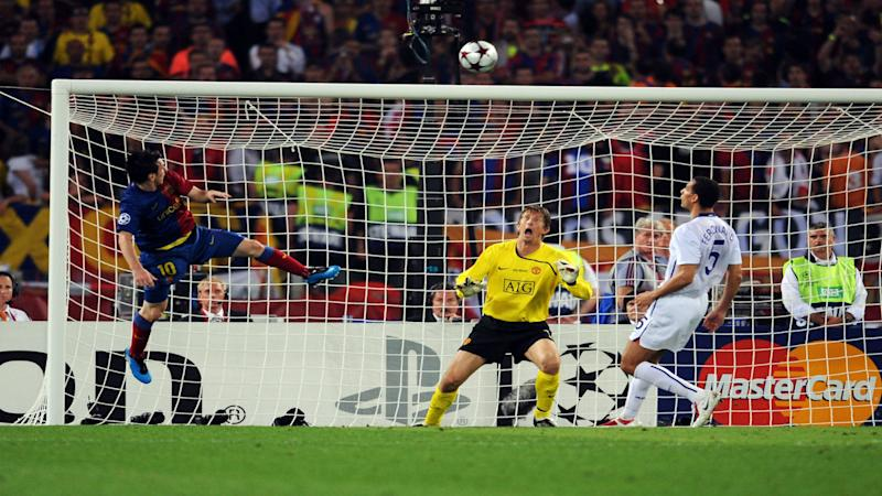 Messi CL final 2009