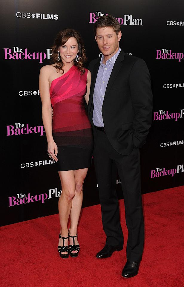 "<a href=""http://movies.yahoo.com/movie/contributor/1809736955"">Danneel Harris</a> and <a href=""http://movies.yahoo.com/movie/contributor/1804667895"">Jensen Ackles</a> at the Los Angeles premiere of <a href=""http://movies.yahoo.com/movie/1810107558/info"">The Back-up Plan</a> - 04/21/2010"