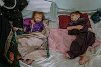 More than 18 million Afghans -- over half the population -- are in dire need of aid (AFP/BULENT KILIC)