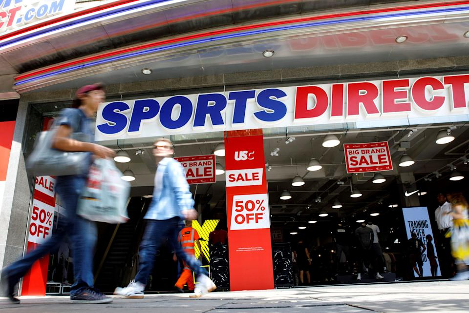 <p>Frasers Group is behind chains such as Sports Direct</p> (AFP via Getty Images)