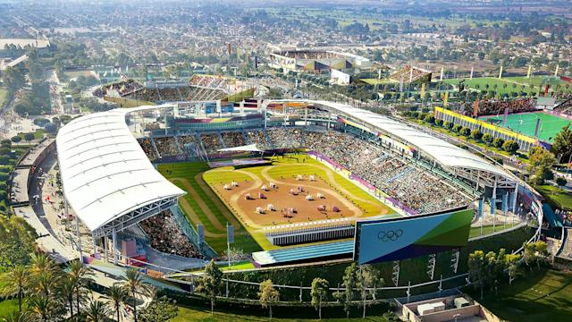 <p>Modern Pentathlon is shown in this South Bay StubHub Stadium rendering. (Photo: Courtesy LA 2024) </p>