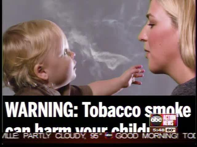 FDA reveals new warning labels for cigarette boxes today.