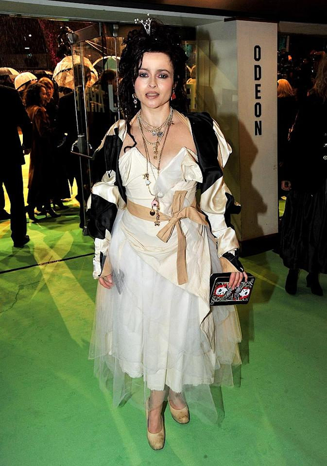 """Helena Bonham Carter at the world premiere of """"Alice in Wonderland."""" 'nuff said. Jon Furniss/<a href=""""http://www.wireimage.com"""" target=""""new"""">WireImage.com</a> - February 25, 2010"""