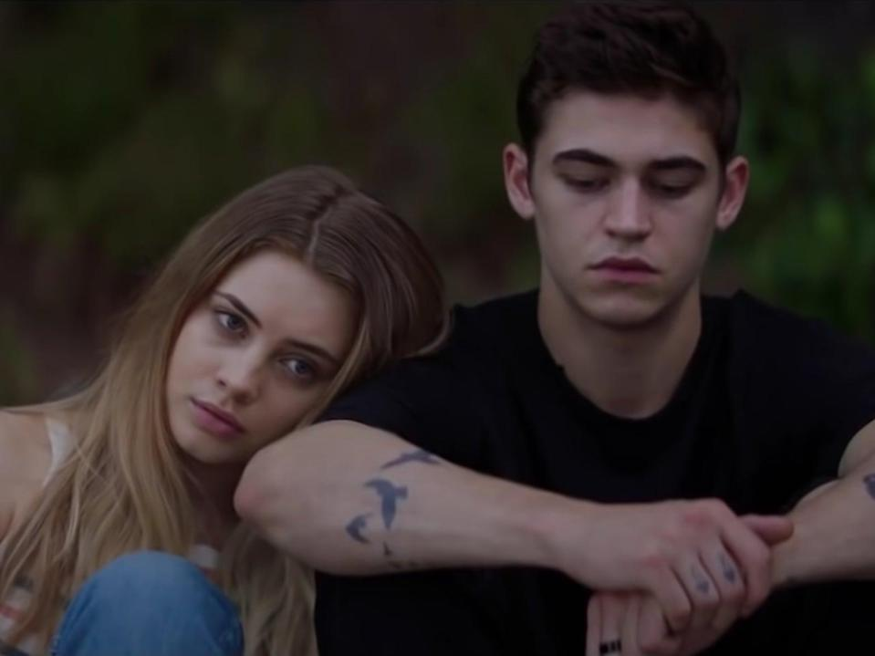 <p>Josephine Langford and Hero Fiennes Tiffin in 'After We Collided'</p>Amazon Prime Video