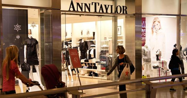 <p>Ascena Retail Group<br>Industry: Specialty Retailers: Apparel<br>Fortune 500 Rank: 384<br>Revenues: $6,995,000,000<br>(CNBC)<br>(Ann Taylor is one of the retail chains operated by Ascena Retail Group) </p>