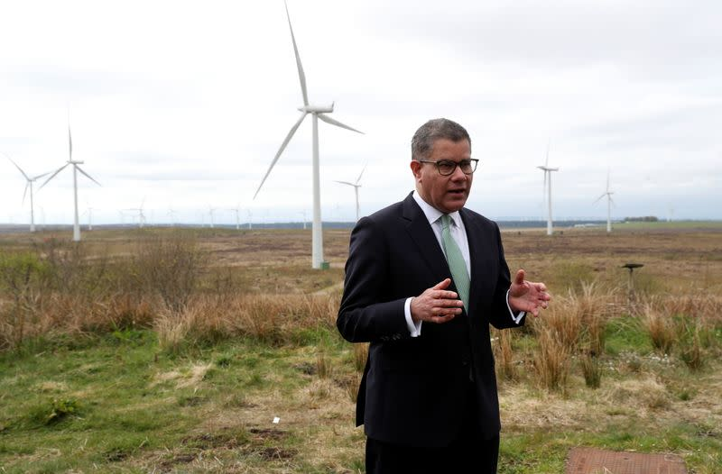 Sharma visits event ahead of COP26 in Glasgow