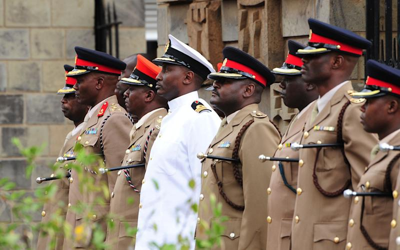 Military of the Kenyan Army - AFP or licensors