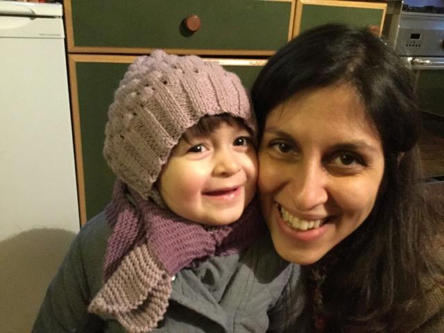 Nazanin Zaghari-Ratcliffe and her daughter Gabriella pose for a photo in London, Britain February 7, 2016. Picture taken February 7, 2016. Karl Brandt/Courtesy of Free Nazanin campaign/Handout via REUTERS ATTENTION EDITORS - THIS PICTURE WAS PROVIDED BY A THIRD PARTY. FOR EDITORIAL USE ONLY.