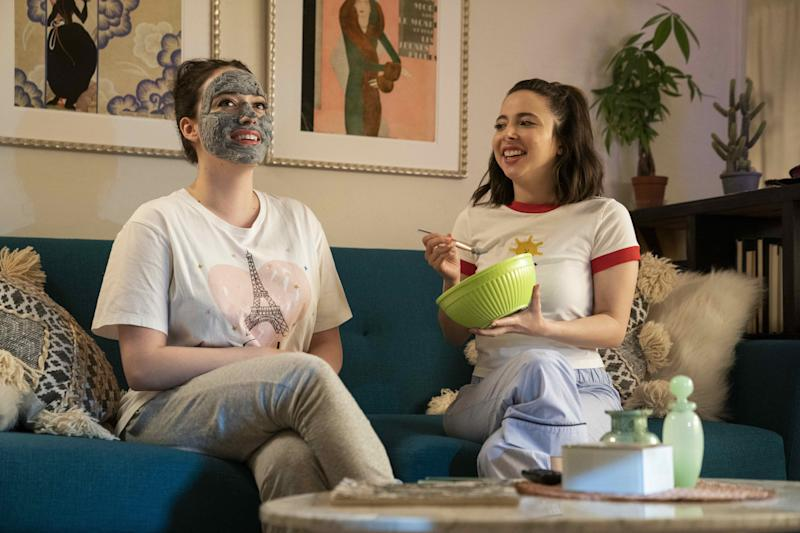 Kat Dennings and Esther Povitsky in Dollface